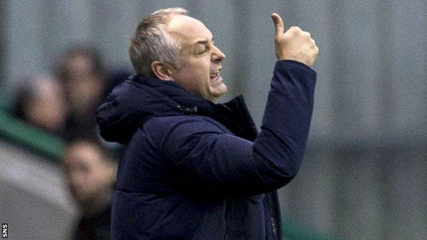 Raith Rovers manager Ray McKinnon