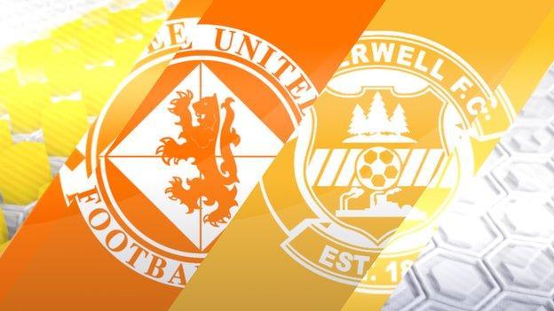 Dundee United v Motherwell
