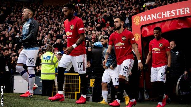 Coronavirus: Manchester United will continue to pay matchday staff (2020)