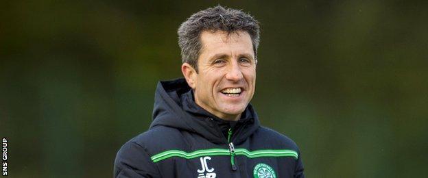 Celtic assistant manager John Collins