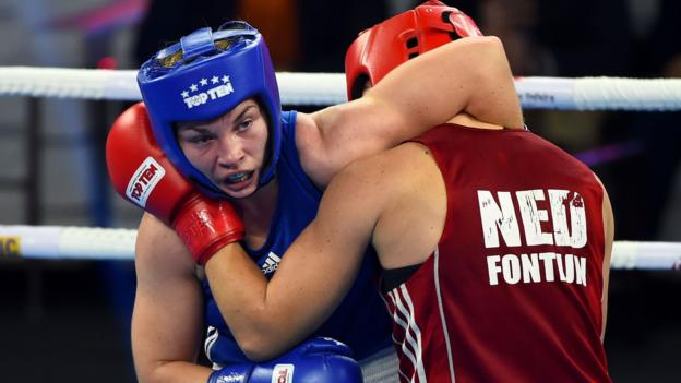 Lauren Price: Boxer looking to Olympics in Tokyo after world gold