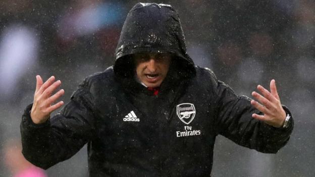 Vitoria Guimaraes 1-1 Arsenal: Gunners concede late equaliser in Portugal