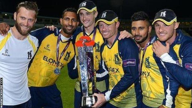 Ian Bell was part of the victorious Birmingham Bears side which beat Surrey and Lancashire on Finals Day at Edgbaston in 2014