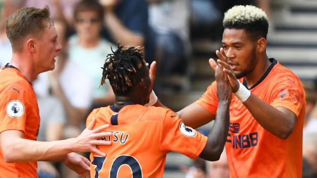 Tottenham Hotspur 0-1 Newcastle United: Joelinton gives Steve Bruce first Newcastle win thumbnail