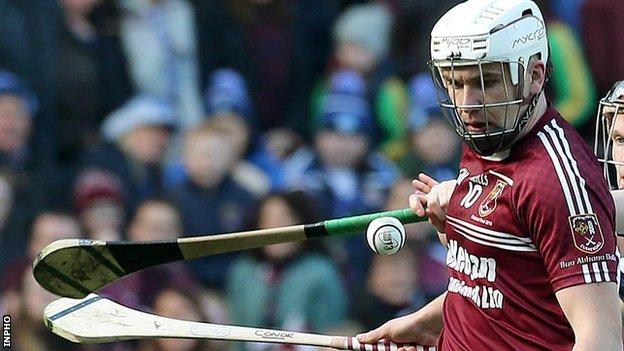 Conor Carson scored Cushendall's second goal in the three-point victory on Sunday