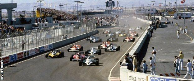 Carlos Reutemann, Las Vegas, 1981