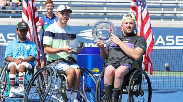 Andy Lapthorne and Dylan Alcott