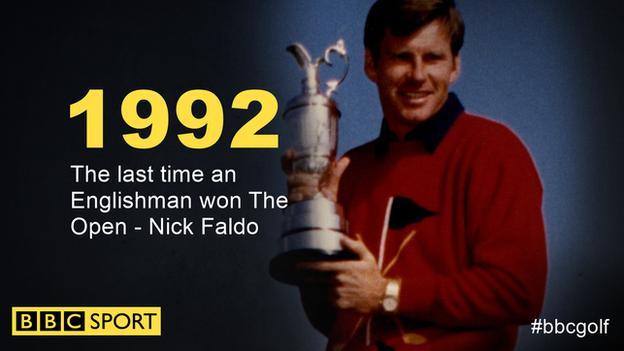 Nick Faldo wins The Open in 1992