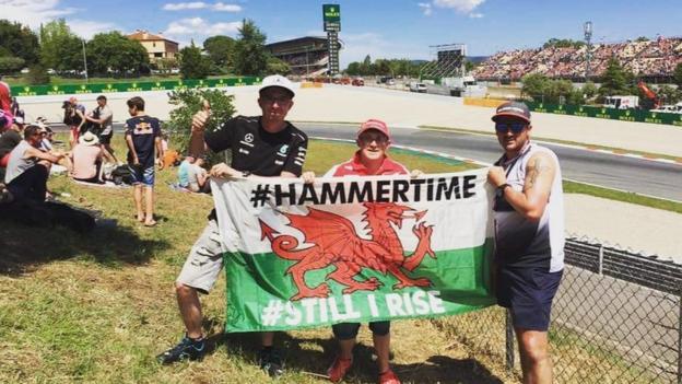 """Ross Andrews: """"The Spanish Grand Prix 2017, it's #hammertime"""""""