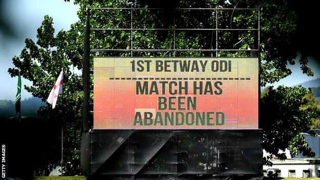 Match abandoned pic