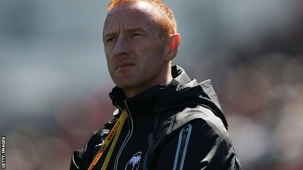 Fiji coach Ben Ryan