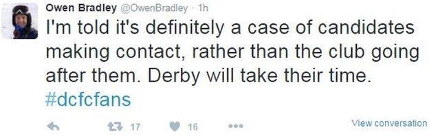 Owen Bradley tweet