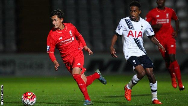 Yan Dhanda joined Liverpool in 2013 but opted to leave in 2018 because he was keen to play senior football