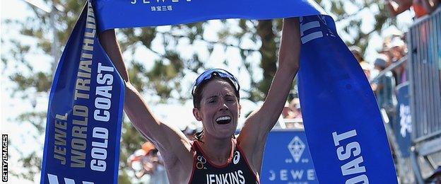 Helen Jenkins wins in Australia