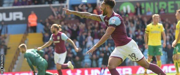 Andre Green's right-foot curler was his first goal for the club