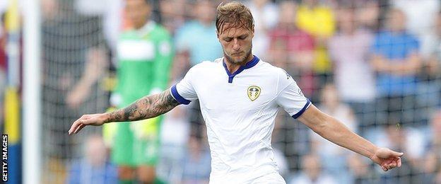 Leeds United defender Liam Cooper