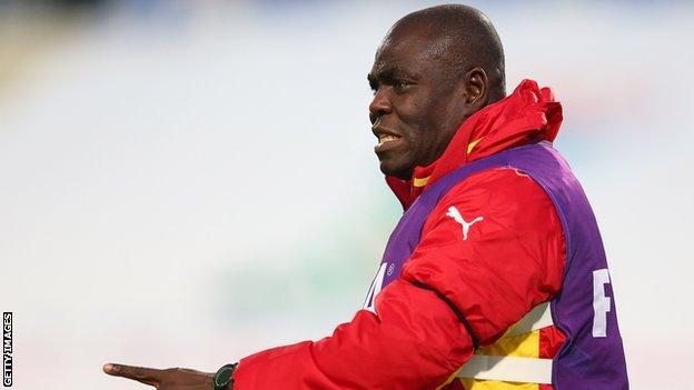 Sierra Leone's Ghanaian coach Sellas Tetteh