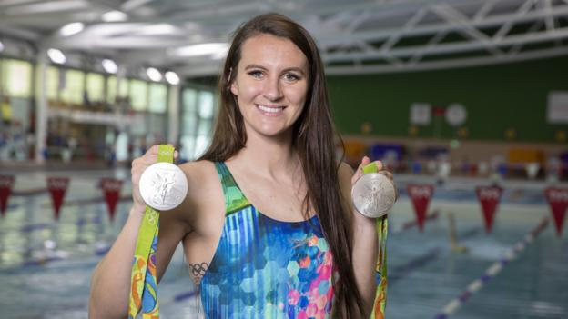 Jazz Carlin: Double Olympic silver medallist retires from swimming aged 28 thumbnail
