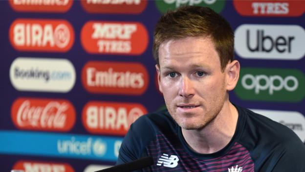 England v New Zealand: Eoin Morgan tells players to 'stay in the moment' thumbnail