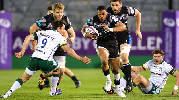 Bath beat London Irish on Friday night to book their place in the European Challenge Cup semis