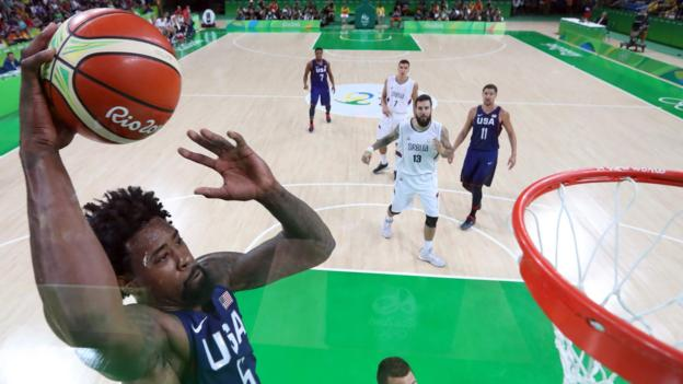 Rio Olympics 2016: USA beat Serbia in men's basketball to win last gold of Games
