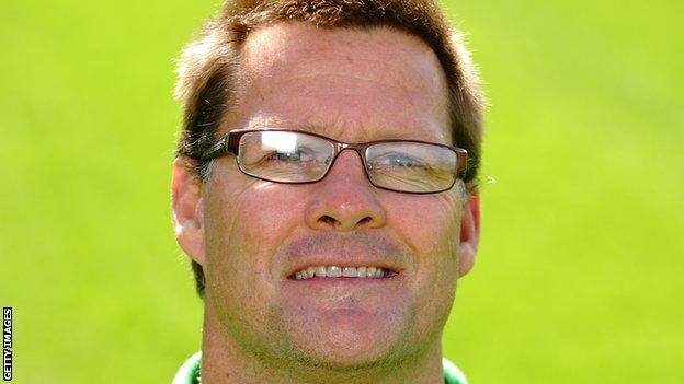 London Irish defence coach Grant Doorey