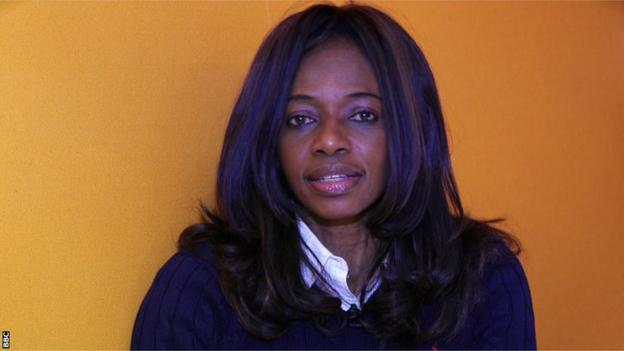 Sierra Leone Football Association president Isha Johansen