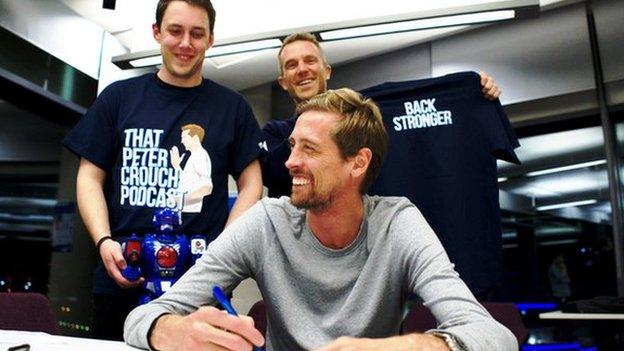 That Peter Crouch Podcast is back - and Crouchie has written his own press release thumbnail