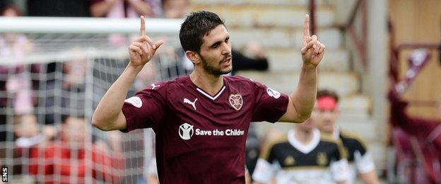 Igor Rossi gave the home fans some hope when he pulled a goal back in the second half