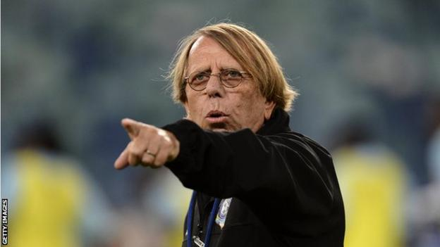 Togo's French coach Claude LeRoy