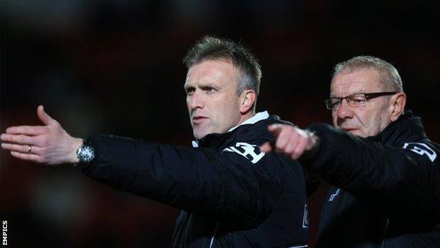 Steve Davis and Neil Baker
