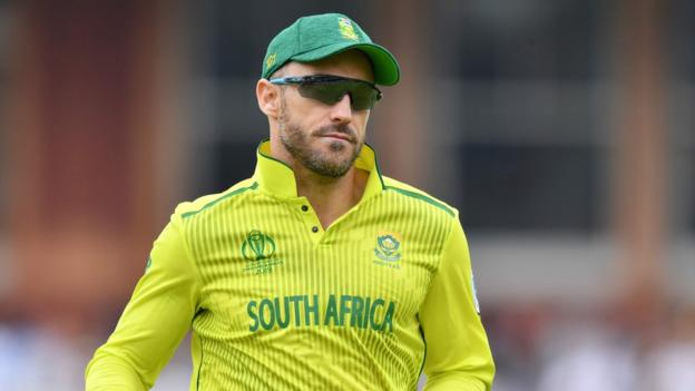 Cricket World Cup: Faf du Plessis 'embarrassed' by South Africa exit