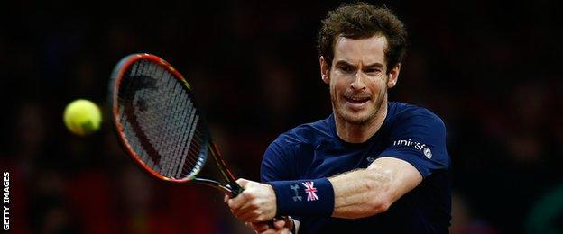 Andy Murray won all of the 11 matches he played in