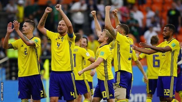 Sweden beat Mexico