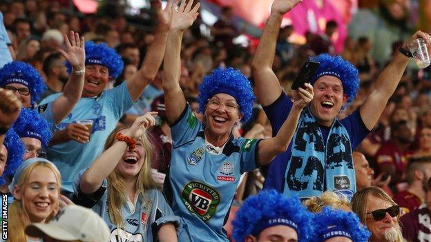 New South Wales fans