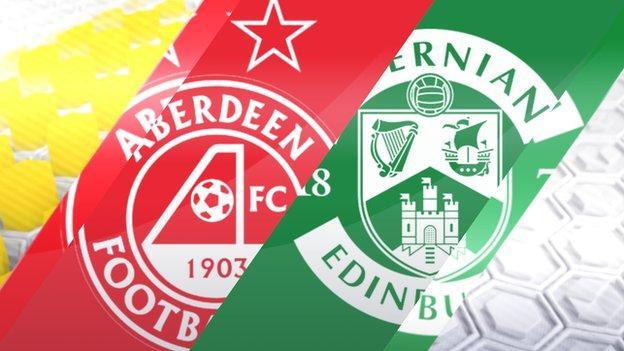 Aberdeen v Hibernian