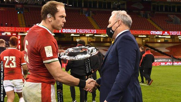 It was a fourth Triple Crown for Alun Wyn Jones and Wayne Pivac's first