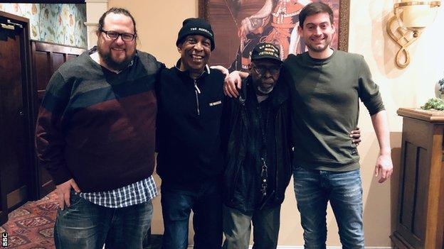 Joel Hammer, John Artis, Jonny Carter and Steve Crossman