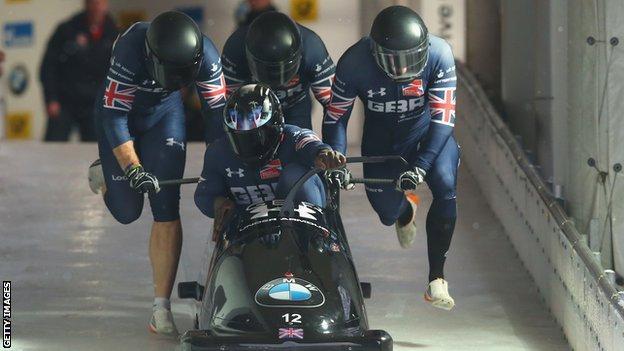 Great Britain Bobsleigh Team
