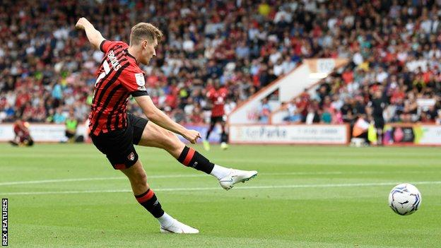 Wales midfielder David Brooks joined Bournemouth from Sheffield United for £11.5m in July 2018