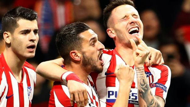 Atletico Madrid 1-0 Liverpool: Saul Niguez goal leaves Reds hopes in balance