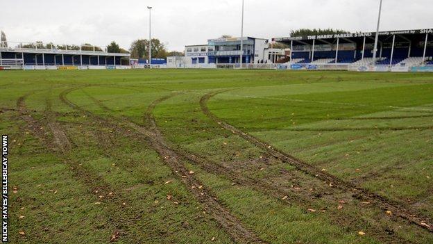 Billericay pitch