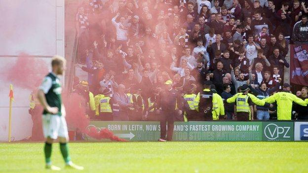 Clubs need to self-police to tackle fan misbehaviour - Hearts owner Ann Budge