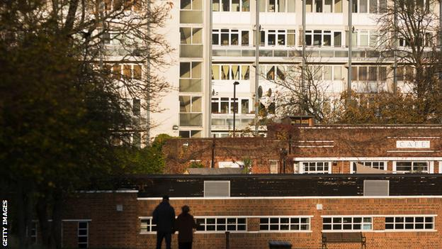 Tulse Hill in London where Dillian moved to be with his Mum