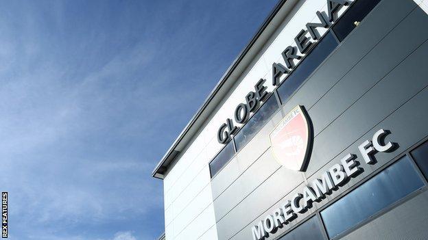Morecambe's Globe Arena