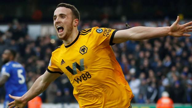 Wolves 4-3 Leicester City: Diogo Jota hat-trick as hosts snatch win in thriller thumbnail