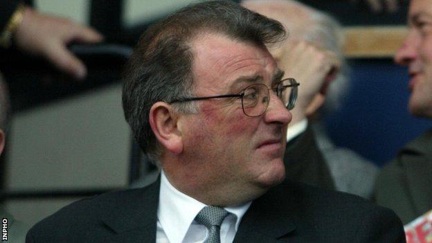 Former GAA president Joe McDonagh