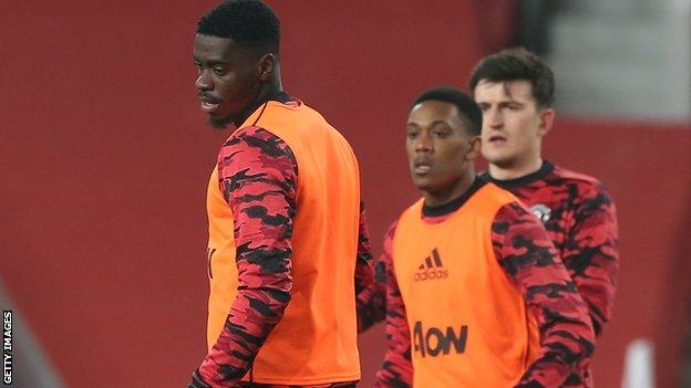 Axel Tuanzebe ve Anthony Martial