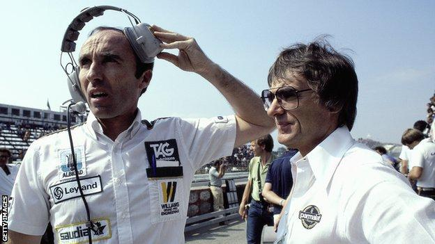Bernie Ecclestone, Frank Williams