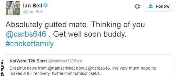Ian Bell tweet